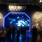 The Call of Duty pavilion was huge.