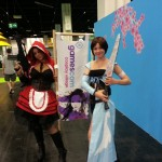 Cosplay was also represented at the convention.