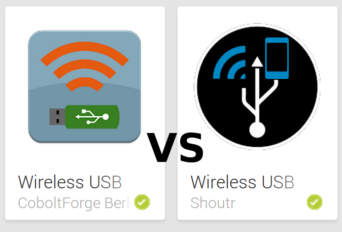 Wireless USB vs Wireless USB